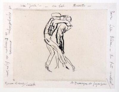 """André Dunoyer de Segonzac, 'La Java / Une """"Java"""" au bal Musette', 1929"""