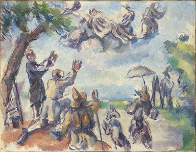 Paul Cézanne, 'Apotheosis of Delacroix', 1890-1894