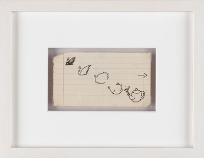 Paul Thek, 'Untitled (swan and teapot)', 1975