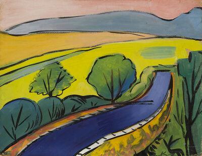 Kirill Zdanevich, 'Asphalt road', ca. 1960