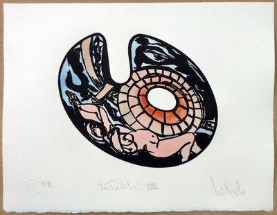 """Luis Miguel Valdes, '""""La paleta VIII""""', 2014"""