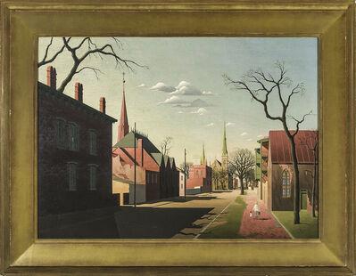Thomas Fransioli, 'Street Scene, South Boston', 1951