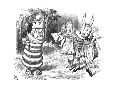 Sir John Tenniel, 'I feel faint - Give me a ham sandwich!'', 1988
