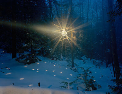 Adam Ekberg, 'A disco ball on the mountain', 2005