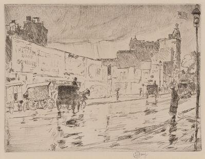 Childe Hassam, 'The Billboards, New York', ca. 1916