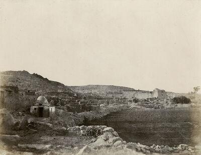 John Beasley Greene, 'Village de Kalabsch, Egypt', 1854/1855