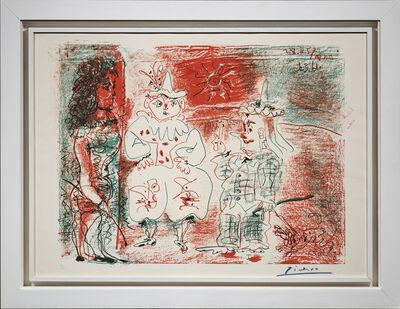 Pablo Picasso, 'L'Ecuyère et les Clowns', 1961