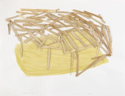 Tadashi Kawamata, 'Site sketch n°16', 2013