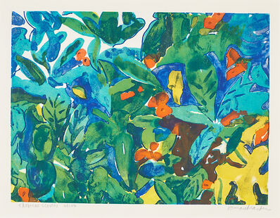 Romare Bearden, 'Tropical Flowers'