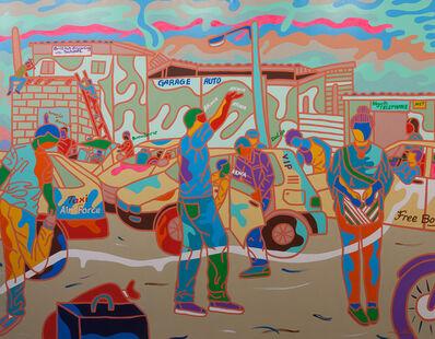 Ajarb Bernard Ategwa, 'From Elf to Town', 2015