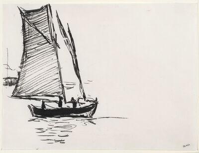 Albert Marquet, 'Voilier', c. 1914-1916