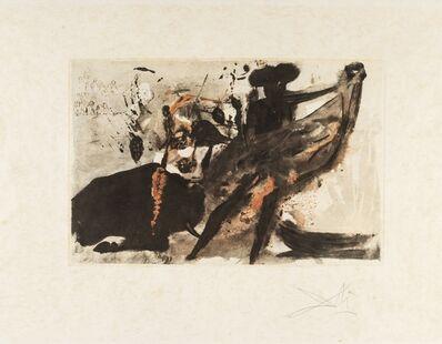Salvador Dalí, 'La Tauramachie Individuelle (Field 72-11; M&L 153a)', 1966