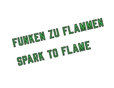 Lawrence Weiner, 'SPARK TO FLAME (CAT.# 1157)', 2019
