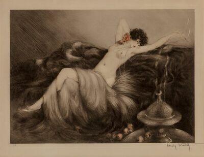 Louis Icart, 'Smoke', 1926