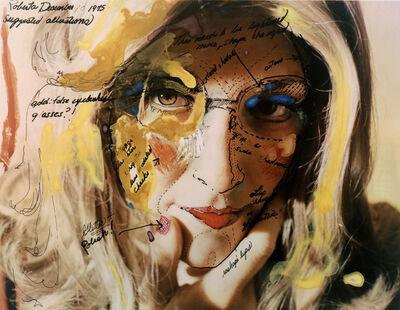 Lynn Hershman Leeson, 'Roberta Construction Chart #2', 1975