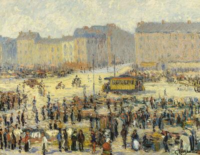 Gustave Loiseau, 'Place de l'Etoile', ca. 1923