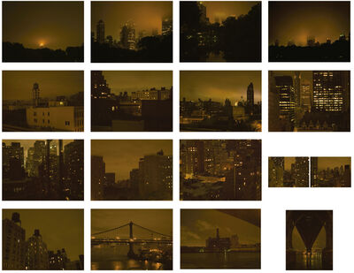 José Guerrero (b. 1979), 'New York / Night Ligthts (Set of 16 photographs)', 2011