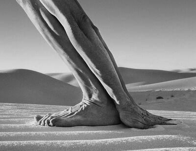 Arno Rafael Minkkinen, 'Hands and Feet, White Sands, New Mexico', 2000