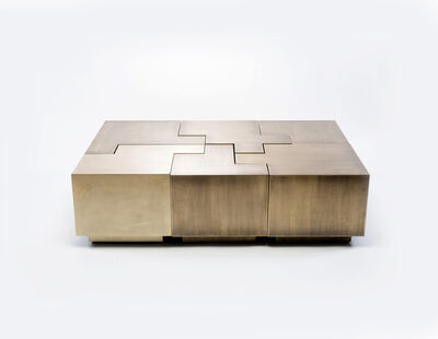 Gulla Jonsdottir, 'Puzzle Table ', 2017