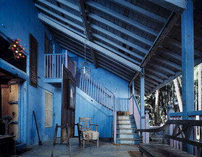 Neil Folberg, 'Porch, Beit-El Synagogue, Raudenda, India', 1995