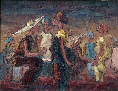 Ablade Glover, 'Women at the Market', 1976
