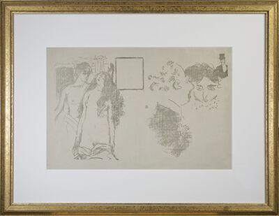 Pierre Bonnard, 'LaDerniere Croisade (CRM39) 1st State, rare', ca. 1896