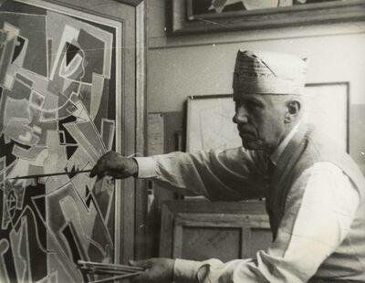 Germaine Nordmann, 'Gino Severini dans son atelier', 1950