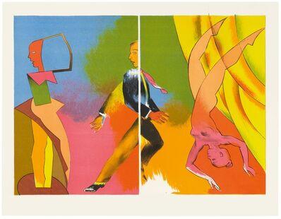 Allen Jones, 'Split Performance', 2012