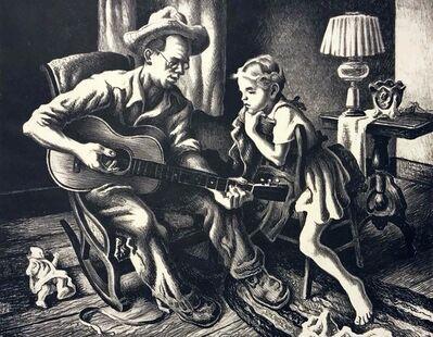 Thomas Hart Benton, 'Music Lesson', 1943