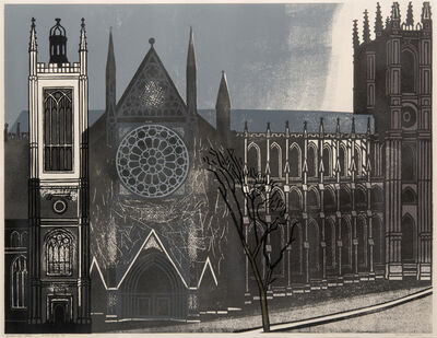 Edward Bawden, 'Westminster Abbey', 1966