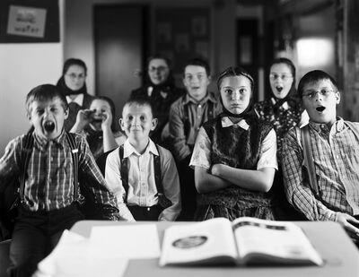 Christopher Churchill, 'Hudderite Classroom, Gilford, MT', 2005