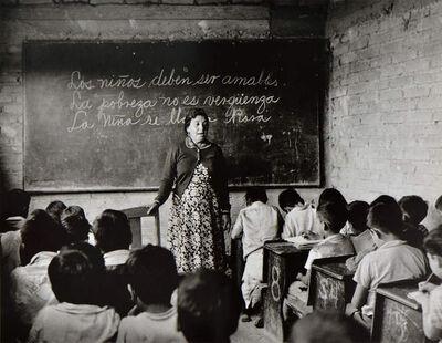 Rodrigo Moya, 'La lección', 1959