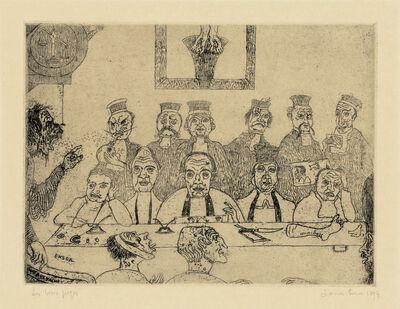 James Ensor, 'Les Bons Juges (The Good Judges)', 1894