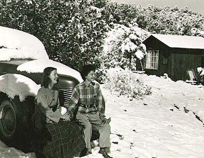 Man Ray, 'Dorothea Tanning and Juliet Man Ray in Arizona', 1941, 46/1941, 46