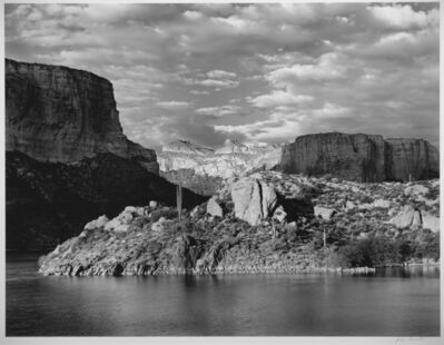 Jody Forster, 'Painted Cliffs, Apache Lake, Arizona', 1980