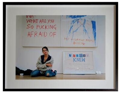 Tracey Emin, 'Tracey Emin. November 7, 2002 by Jason Schmidt', 2002