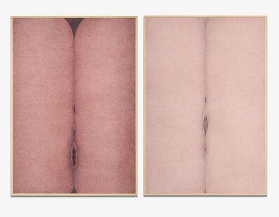 Mercedes Elena González, 'Rose Vulvosa 1 & 2 (Vulvosa rosa 1 & 2)', 1979-1980