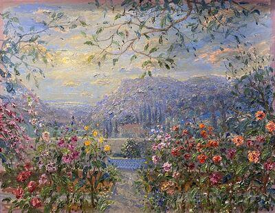 Bruno Zupan, 'Nocturne in Chopin's Garden', 2001