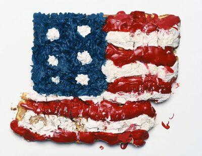Sharon Core, 'USA Flag Fragment', 2019