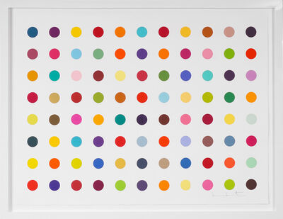 Damien Hirst, 'Horizontal Spots, Woodcut ', 2018