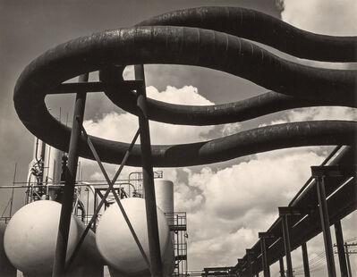 Edward Weston, 'Gulf Oil, Port Arthur, Texas [negative] TX 41-PA-4', 1941