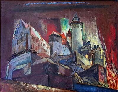 Stefan Hirsch, 'The Burning Castle', 1944