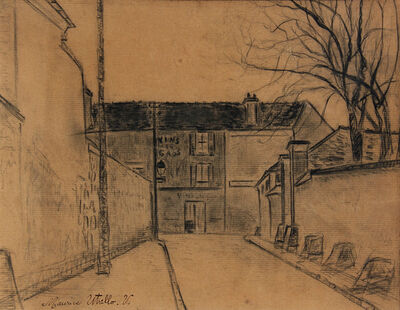 Maurice Utrillo, 'Rue de Banlieue', 1914
