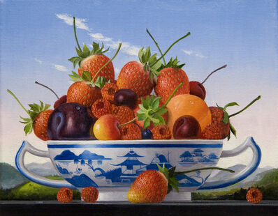 James Aponovich, 'Mixed Fruits with Canton Bowl', 2013