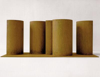 Erich Reusch, 'Modell für Eine Skulptur aus Corten-Stahl - Halbbogen-Stelen', 1992