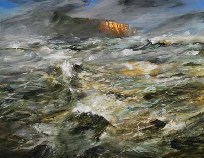 Réal Calder, 'Tempête sur Percé', 2017