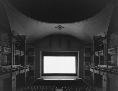 Hiroshi Sugimoto, 'Cinema Odeon, Firenze', 2013