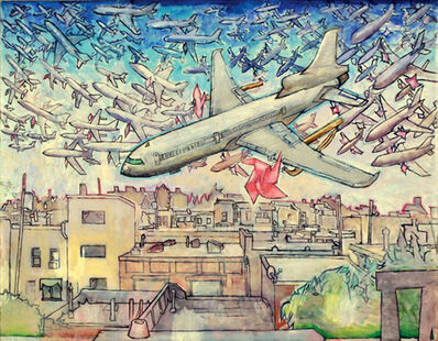 Hiro Sakaguchi, 'School of Pinwheel Airplanes', 2009