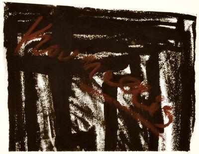 Jannis Kounellis, 'Untitled (Labyrinth)', 2002