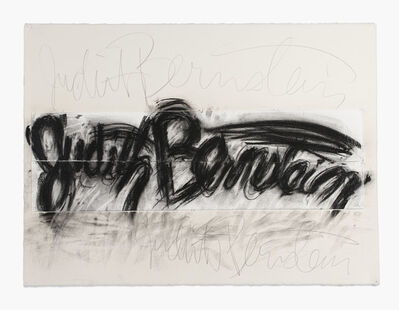 Judith Bernstein, 'Preparatory Drawing for Signature Piece Number 2', 2013